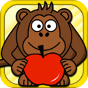 Mad Monkey Free - Fun Kids Games and Kid Arcade... mobile app icon